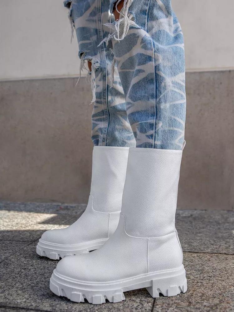 RANGER WHITE BOOTIES