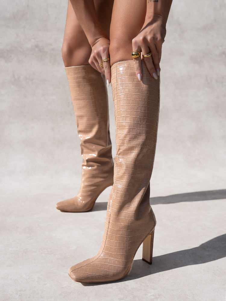 DULCE NUDE BOOTS
