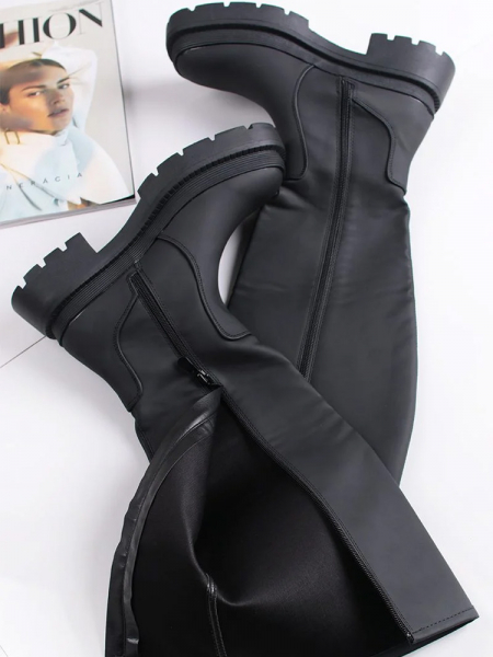 MESSINA BLACK BOOTS