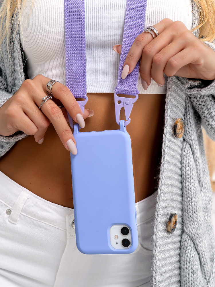 STRAP LILLAC IPHONE CASE