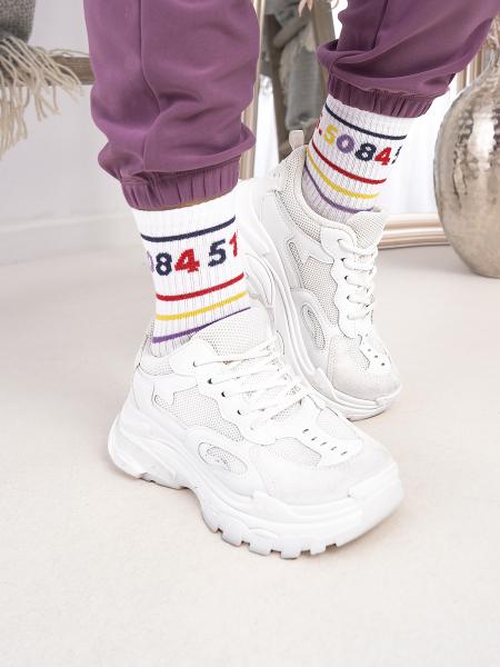NUMBERS BASKET SOCKS