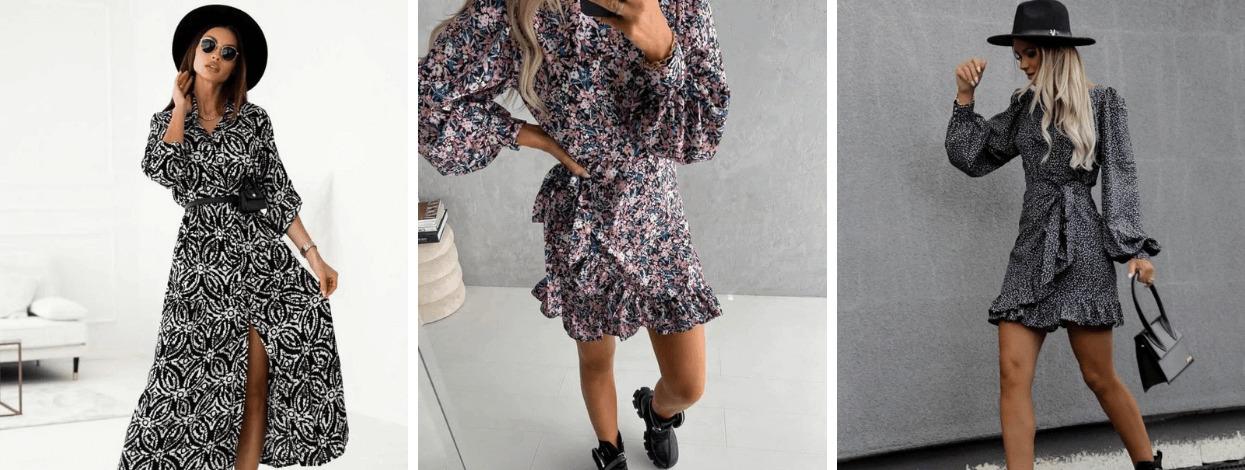 Φθινοπωρινή συλλογή 2021 φορέματα