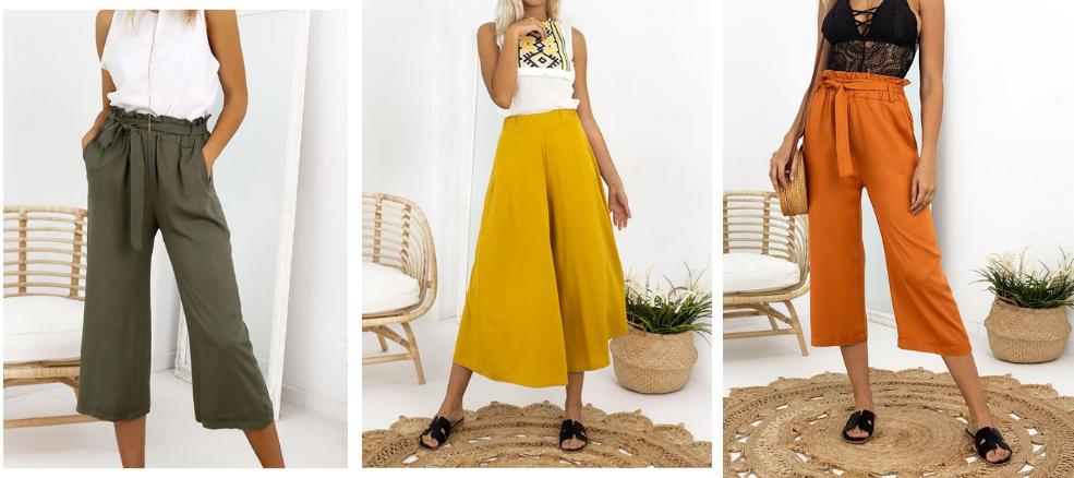Basic Ρούχα 2019 - Zip Culotte