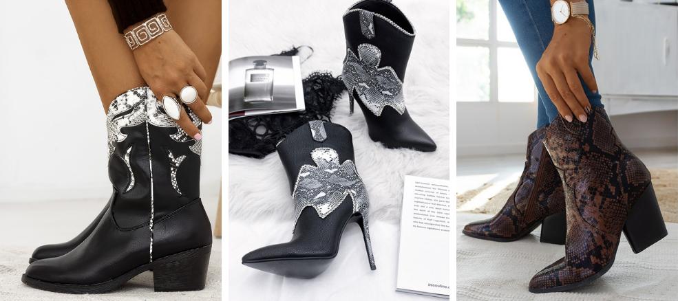 Cow boots για το χειμώνα ως τα πιο άνετα γυναικεία παπούτσια