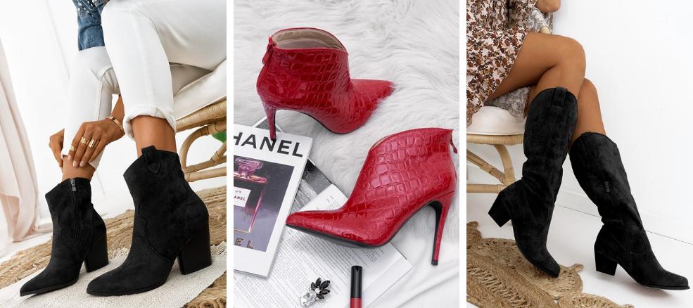 Γυναικεία παπούτσια για το χειμώνα είναι οι μπότες και τα μποτάκια