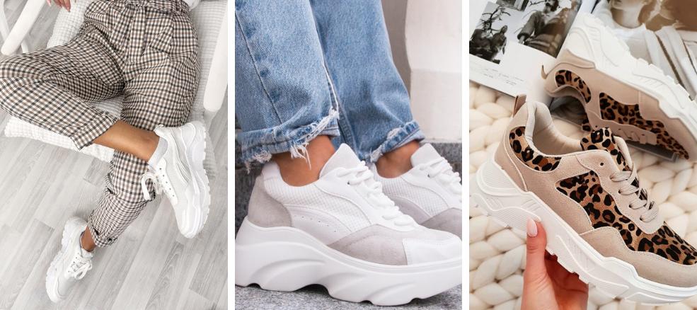 τα sneakers ως αγαπημένα γυναικεία παπούτσια
