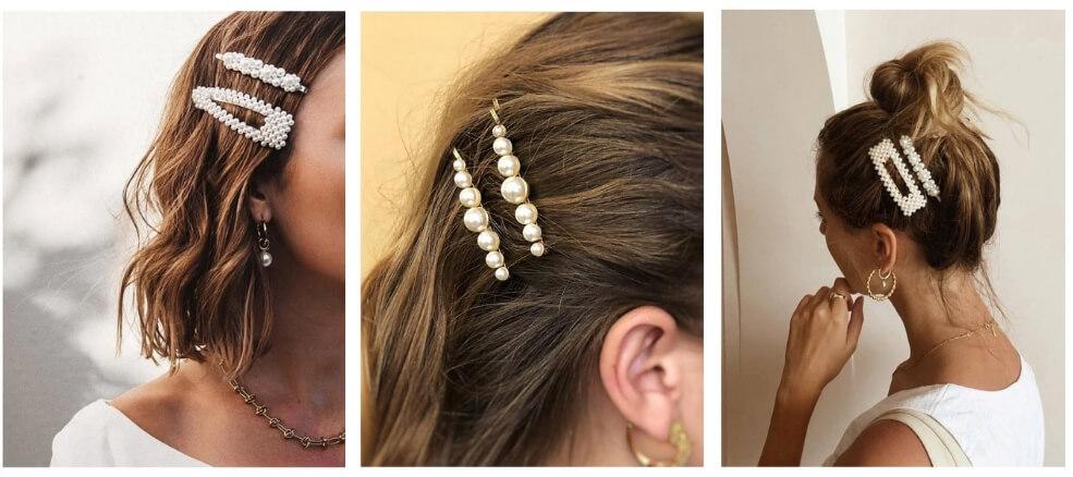 Hairclips για καθημερινά outfits και νυφικά