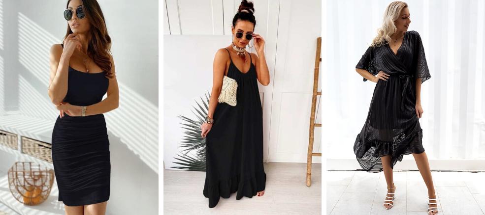 Μαύρα Φορέματα καλοκαίρι 2020
