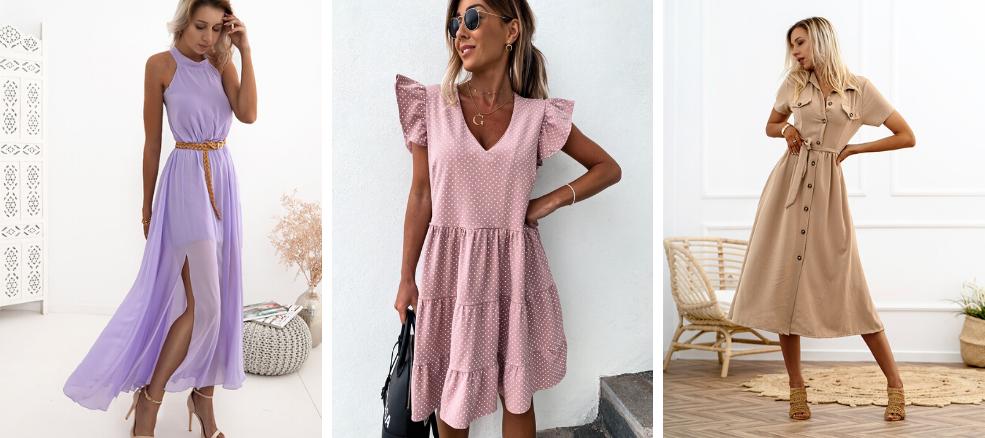 Μοντέρνα Φορέματα καλοκαίρι 2020