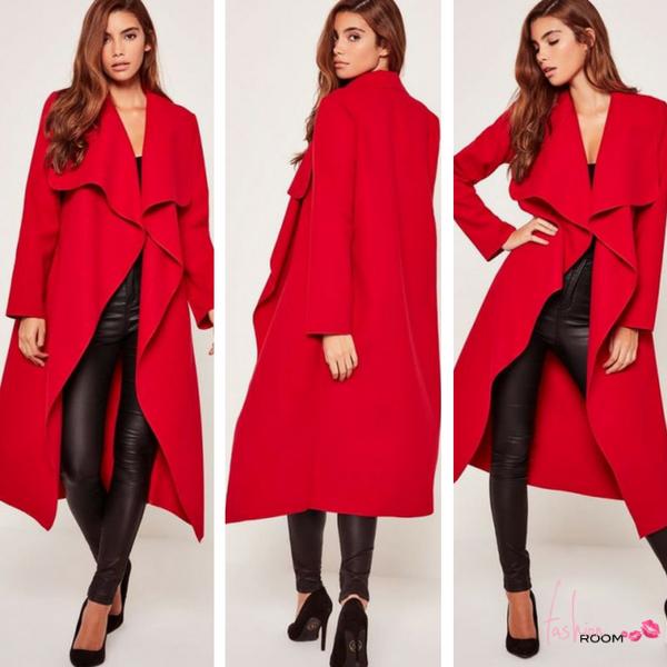 Παλτό Τάσεις 2017  Εντυπωσιακά γυναικεία πανωφόρια για το φετινό ... d6354ecb118
