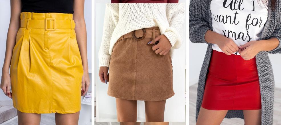 Οι δερμάτινες φούστες δε θα λείψουν από τη χειμερινή γκαρνταρόμπα σου