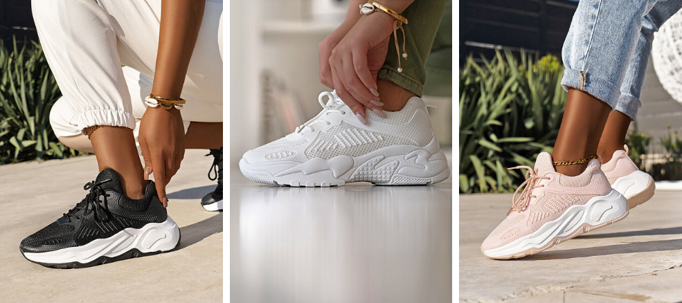 sneakers για την άνοιξη