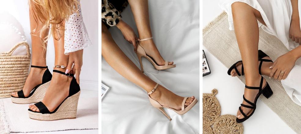 Παπούτσια για διακοπές: πέδιλα και πλατφόρμες