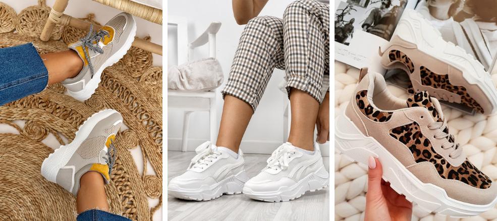 Παπούτσια για διακοπές: sneakers