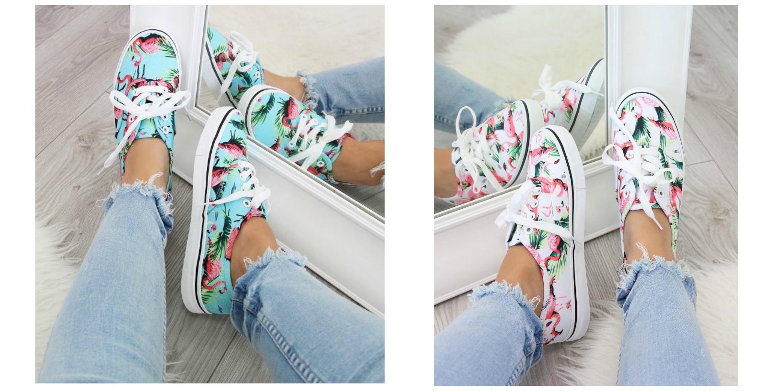 ροζ φλαμιγκο sneakers