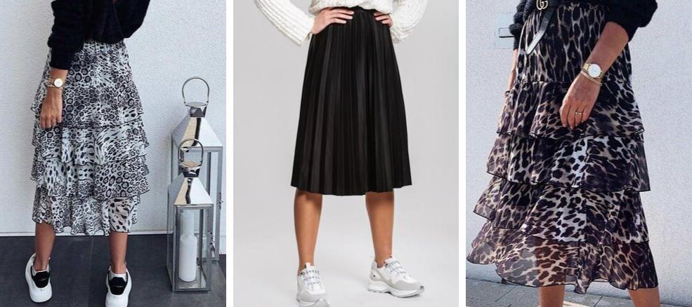 Skirt Collection πλισέ και λεοπάρ φούστες