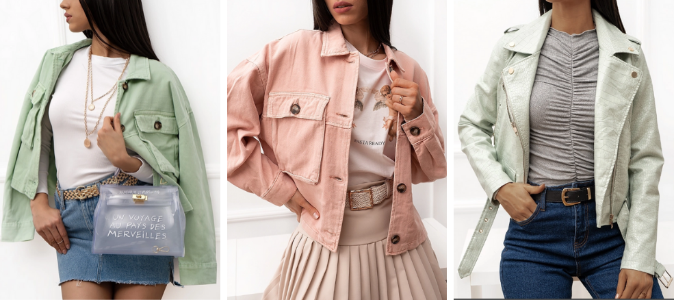 Spring Collection: Jackets
