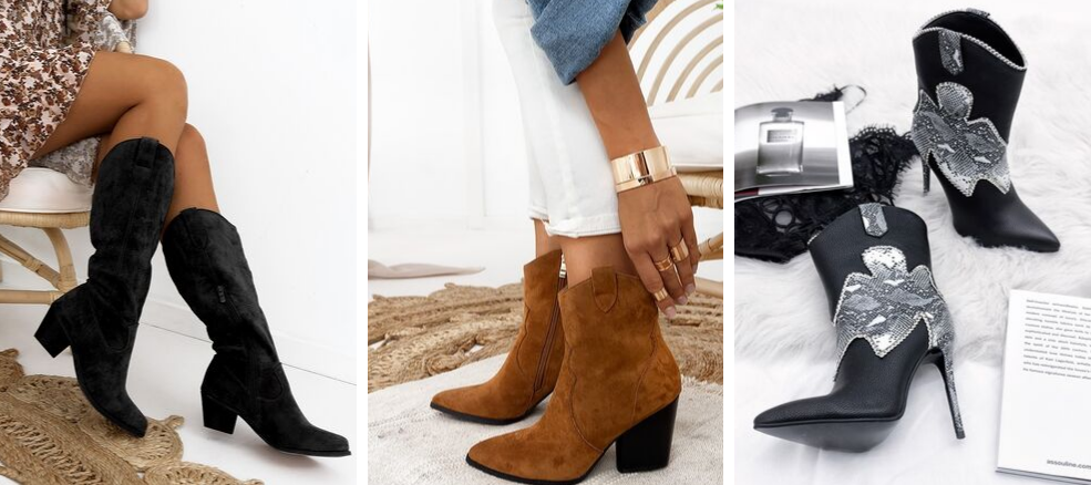 Winter 2020 Cowboy μπότες